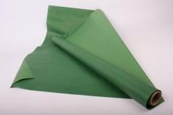 Бумага  КРАФТ  Зелёный однотонный   (70см*10м) К