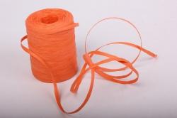 Рафия бумажная, 5 мм х 200 м Оранжевый G54