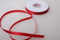 138 лента атласная 9мм 45м  красная - китай