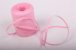 Рафия бумажная, 5 мм х 200 м Розовый G23