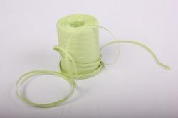 Рафия бумажная, 5 мм х 200 м Светло-зеленый G40