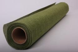 Упаковочный материал Иск. Джут, 50 см х 4,5 м (оливковый 831)