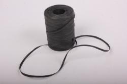 Рафия бумажная, 5 мм х 200 м Черный G12