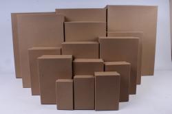 Набор подарочных коробок из 15шт - Прямоугольник №78 КРАФТ  Пин78-К