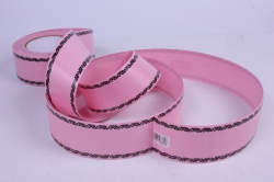 Лента простая 5х50у Розовая Дубки Р568