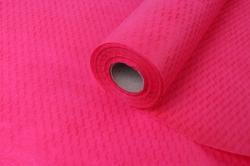 """Водонепроницаемый рельефный фетр """"Волны""""  53 см * 10 м ярко-розовый"""