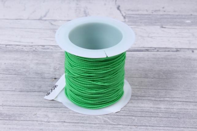 Шнур-резинка  на катушке Зеленый