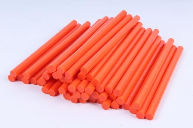 ТермоКлей цветной  (11,2*200 мм) -8196- ОРАНЖЕВЫЙ 1000 г