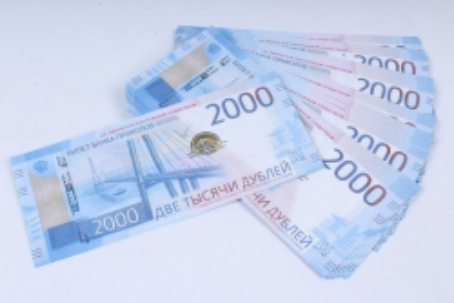 Деньги не настоящие упаковка по 2000 дублей 15.014