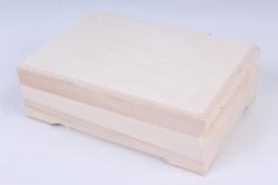 Деревянная заготовка - Шкатулка прямоугольная