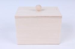 Деревянная заготовка - Коробка чайная маленькая 10х7см h=8см