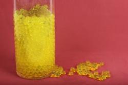 """Гидрогель """"Волшебные жемчужены"""" желтый (d=1.5-2.5мм) GH-41158"""