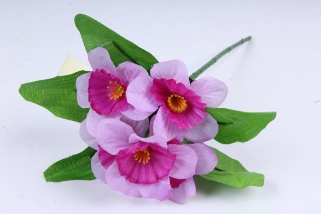 Искусственное растение - Нарциссы  сиреневые