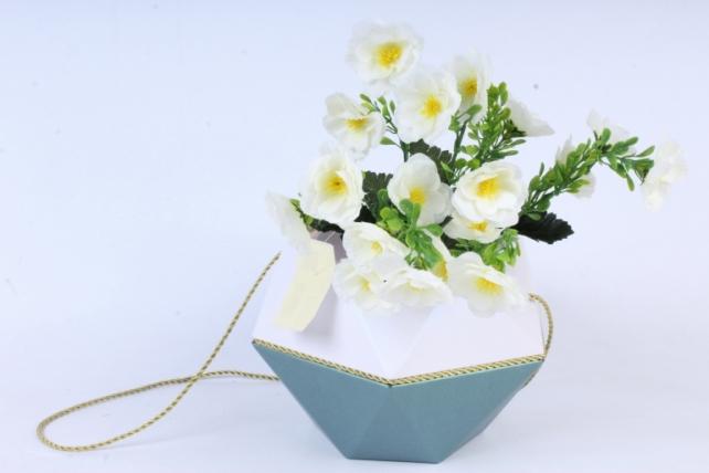 Искусственное растение - Маки махровые белые