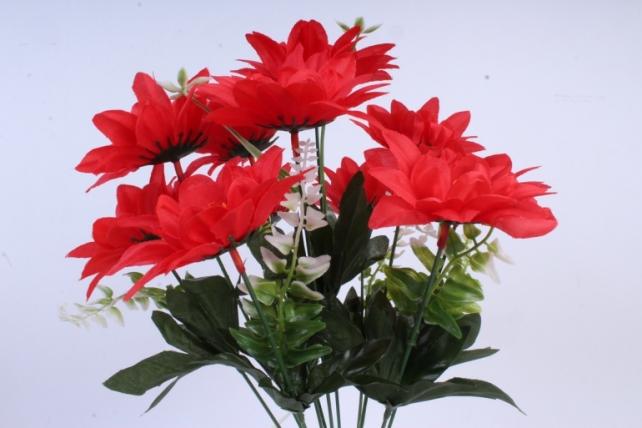 Искусственное растение - Герберы красные
