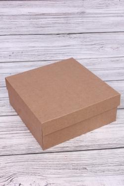 Набор (из 5шт) Коробка-трансформер Крафт крышка-дно 250*250*100мм МГК К8.1
