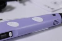 3d ручка сиреневая + 9м пластика