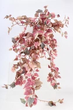 Искусственное растение - Плющ свисающий красный 1м