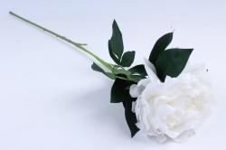 Искусственное растение - Цветок Пиона  Белый SUN406-2032, LIU310