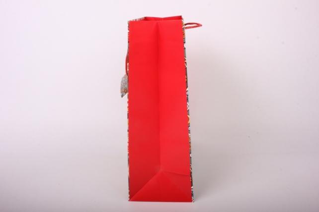 Сумка  Люкс  Нов. Год матов. с зол. тисн. (26*32*12)  (цена за 1шт.) 408