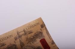 Бумага  КРАФТ  Лондон   (70см*10м) К