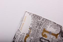 Бумага  КРАФТ  Винтаж на белом   (70см*10м) К