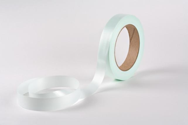 Лента простая (2см*50м) Гладкая без тиснения P2073 ТИФФАНИ