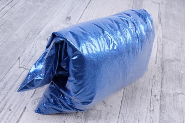 Блестки цветные 0.5 кг металл синий
