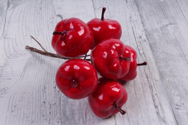 Яблоки красные 3см   TY15-8843