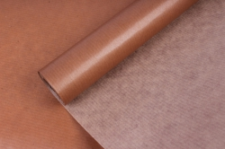 Бумага  крафт цветочная Шоколадная 70см*10м  40г/м2    33606ПУ   М