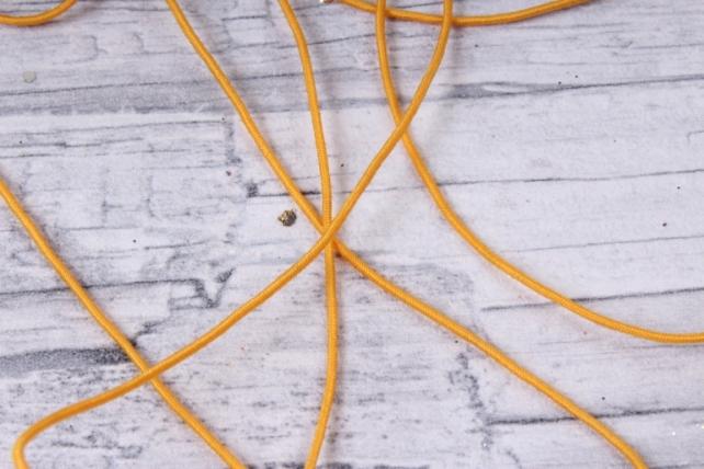 Шнур-резинка  на катушке Желтый