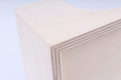 деревянная заготовка - салфетница фигурная