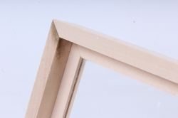 деревянная заготовка - шкатулка со стеклом на 6 отделений 238*164*86мм