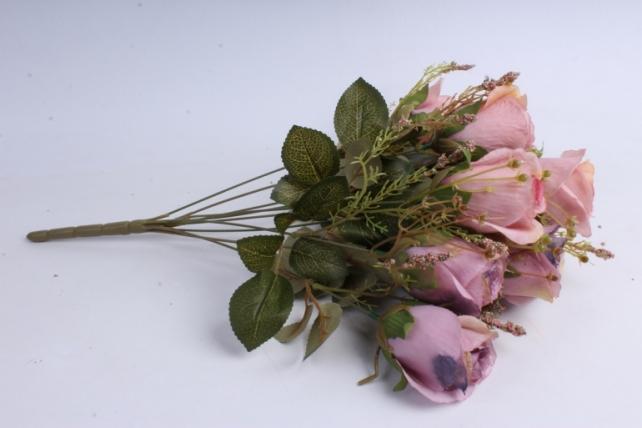 Искусственное растение - Розы ретро Акварель пыльная роза