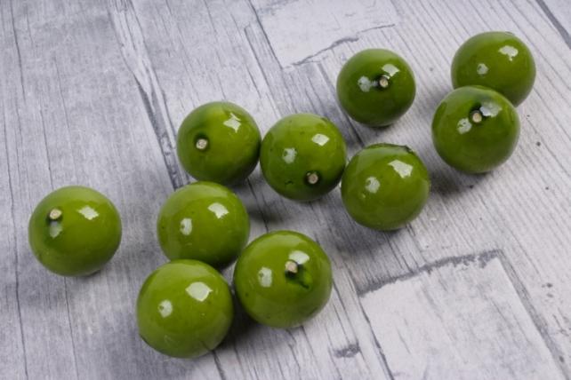 Яблоки ранетки зеленые (10 шт в уп)