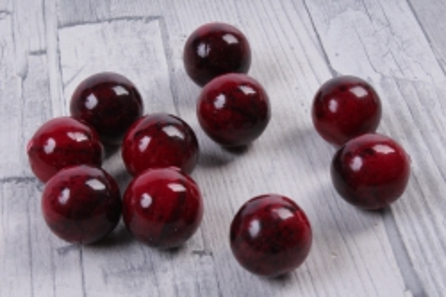 Яблоки ранетки бордовые (10 шт в уп)