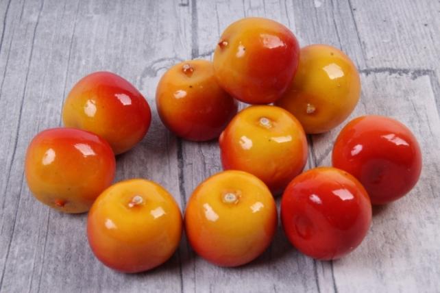 Яблоки ранетки красно-желтые (10 шт в уп)