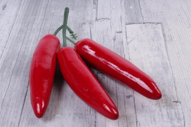 Перец Чили большой на ветке 3шт