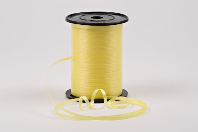 Лента простая 0,5х500м - Лимонный P0539