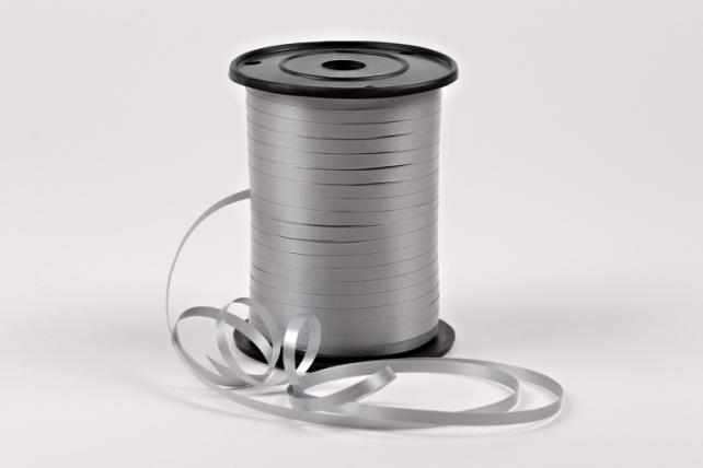 Лента простая (0,5см х 500м) Р0517 СЕРЫЙ