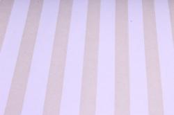 """Бумага цветной Крафт (Б) """"Полоска большая"""" Бронза на сиреневом 60гр/кв.м (60см*10м)"""