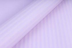"""Бумага цветной Крафт (Б) """"Полоска малая"""" Белая на сиреневом 60гр/кв.м (60см*10м)"""