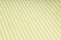 """Бумага цветной Крафт (Б) """"Полоска малая"""" Серебро на желтом 60гр/кв.м (60см*10м)"""
