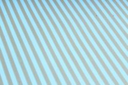 """Бумага цветной Крафт (Б) """"Полоска малая"""" Бронза  на бирюзе 60гр/кв.м (60см*10м)"""