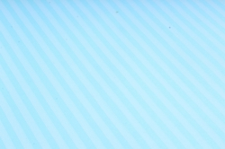 """Бумага цветной Крафт (Б) """"Полоска малая"""" Белая на бирюзе 60гр/кв.м (60см*10м)"""