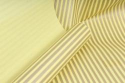 """Бумага цветной Крафт (Б) """"Полоска малая"""" Бронза на желтом 60гр/кв.м (60см*10м)"""