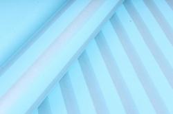 """Бумага цветной Крафт (Б) """"Полоска большая"""" Серебро на бирюзе 60гр/кв.м (60см*10м)"""