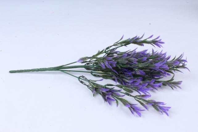 искусственное растение - ветка росянки сиреневая
