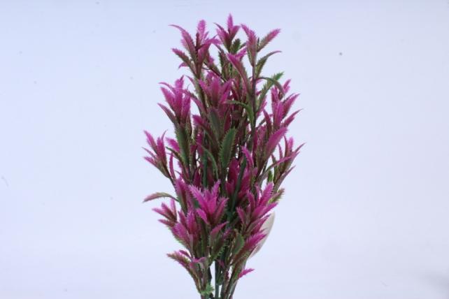 искусственное растение - ветка росянки фуксия