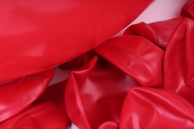 шар красный (015), пастель, (12 шт.), 231235